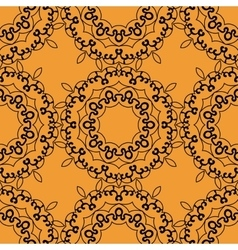 Seamless Indian Print Tile vector image