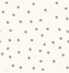 seamless pattern with handdrawn figures vector image