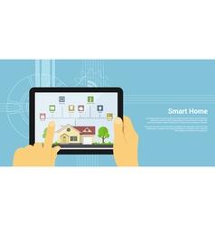 smart home 2 vector image