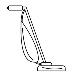 Stick vacuum cleaner icon outline style vector