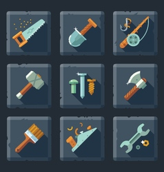 Tools and supplies vector image