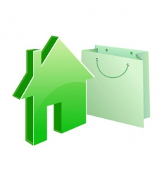 purchased house vector image vector image