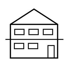Duplex icon vector