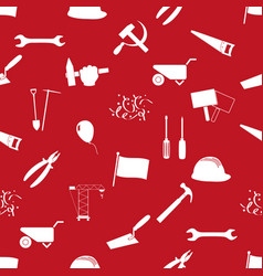 International worker day or labor day theme icons vector