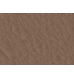 Abstract brown background consisting of triangles vector image