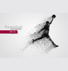 Basketball player from particles vector