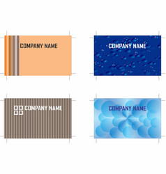 Business cards 7 vector