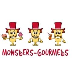 Cartoon Monsters Set vector