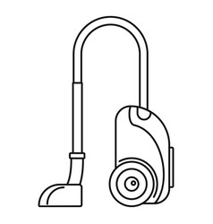 house vacuum cleaner icon outline style vector image