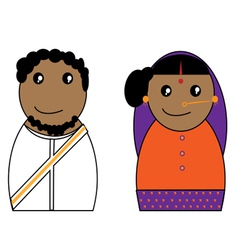 Indian Character vector