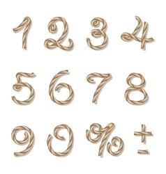 Rope numbers vector