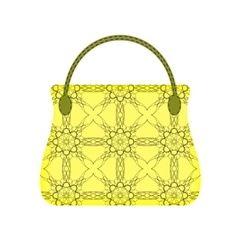 Single Womens Handbag vector
