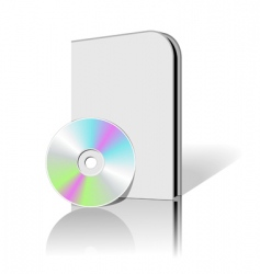 cd dvd box vector image vector image