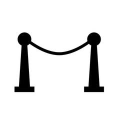cinema fence icon vector image