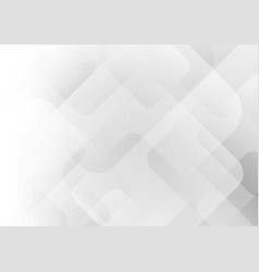 abstract elegant white and gray geometric square vector image