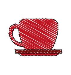 Coffee mug icon image vector