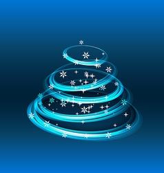 Creative merry christmas greeting vector