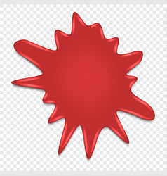 ink blot splatter isolated vector image
