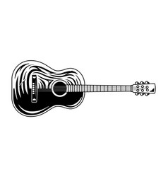 Musical instrument for play music vector