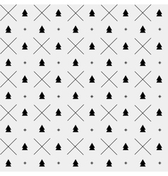 New Year minimalistic pattern vector image