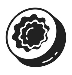 sweet candy icon simple style vector image