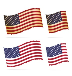 United Stated flag vector