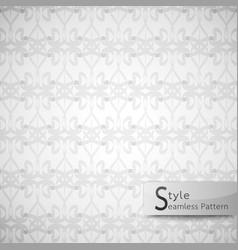abstract seamless pattern ribbon bow lattice vector image