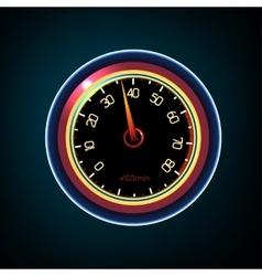 Car Dashboard vector image