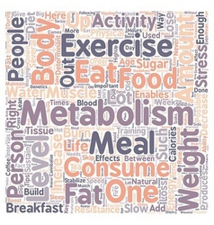 Quick tips to boost your metabolism 1 text vector