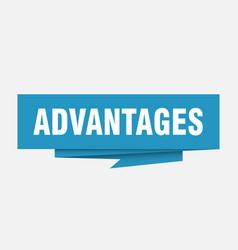 Advantages vector
