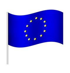 europe union flag vector image