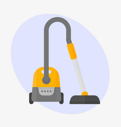 professional vacuum cleaner equipment service vector image