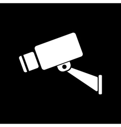 The cctv icon Camera and surveillance security vector image