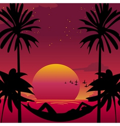 paradise vector image vector image