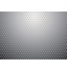 silver metal background bobble vector image