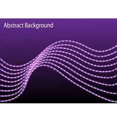 abstract background with a moving wave vector image