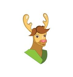 Deer-Mascot-380x400 vector image vector image