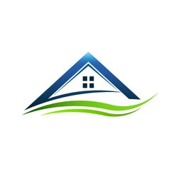 House green sign vector image vector image