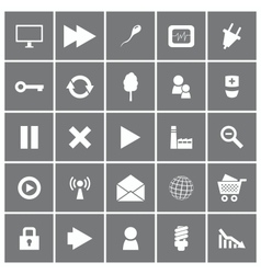 Universal Flat Icons Set 2 vector image