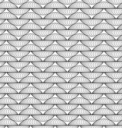 Abstract seamless knitting-like pattern vector image