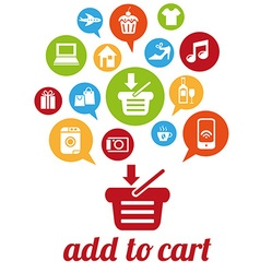 AddToCart vector image
