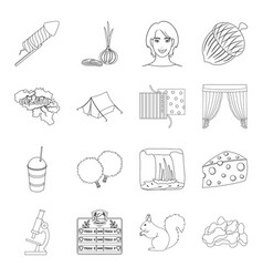 animal atelier medicine and other web icon in vector image