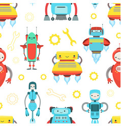 artificial intelligence robotic technology vector image