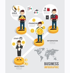 Business investment funds board game flat vector