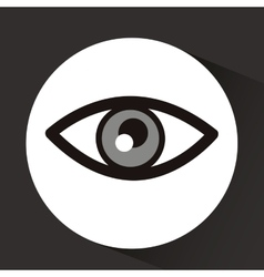 Eye icon design vector