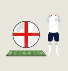 football england sport wear vector image