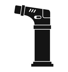 modern cigarette lighter icon simple style vector image