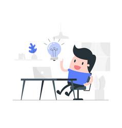 New idea concept vector