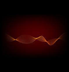 Template - wave line set 01 09c vector