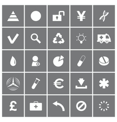 Universal Flat Icons Set 3 vector